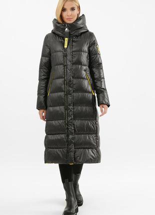 Удлиненная зимняя куртка