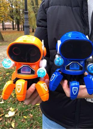 Интерактивный робот-паучок Tobbie
