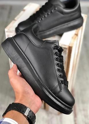 Чёрные кеды кроссовки  мужские размеры в наличии 40,41,42,43,44