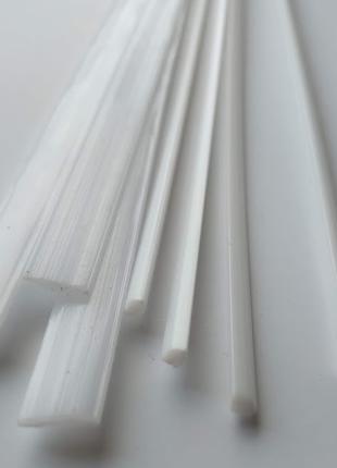 РОМ пом белый пластик прутки для пайки стержни ремонт бампера