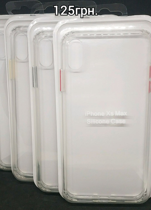 Качественный силиконовый чехол на все модели iPhone