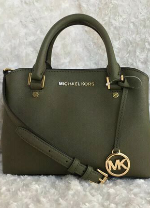 Сумка Michael Kors кожа оригинал savannah medium