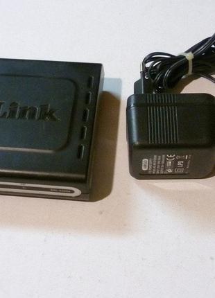 ADSL-modem для Укртелеком D-Link DSL-2500U рабочий исправный
