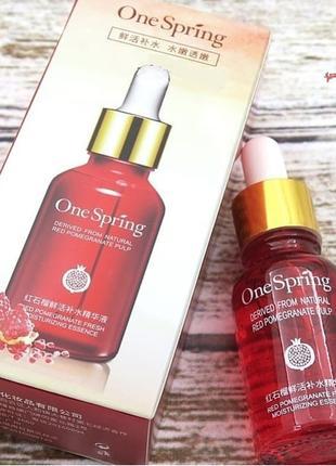 Сыворотка с гранатом и гиалуроновой кислотой One Spring Red