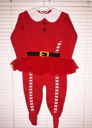Платье⭐🌷⭐боди, бодик, человечек детский новогодний на девочку ...