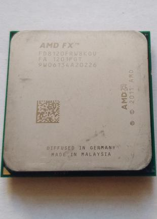 Процессор FX-8120 x8 3.1-4.0GHz Socket AM3+