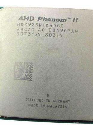 Процессор Phenom II x4 925 2.8GHz Socket AM3/AM2+