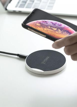 Ультрамощное беспроводное зарядное устройство Pitaka MagEZ Pad