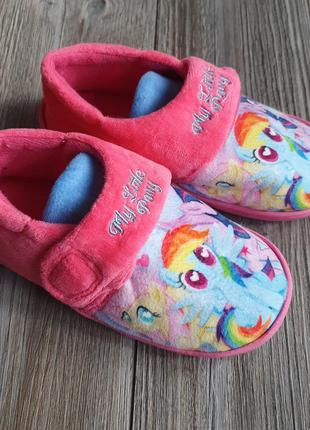 Тапки my little pony hasbro 30р