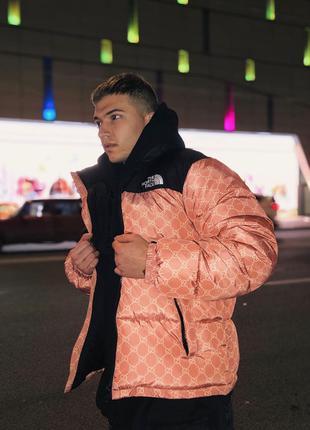 Куртка мужская зимняя The North Face xx Gucci до -30*С теплая