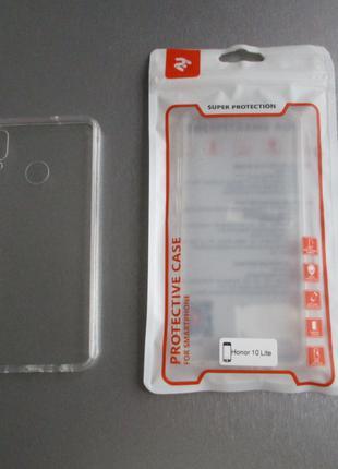 Чехол и защитное стекло для Huawei Honor 10 Lite