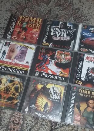 Топ Диски одним лотом Игра PS1 Sony Playstation 1 ps one game