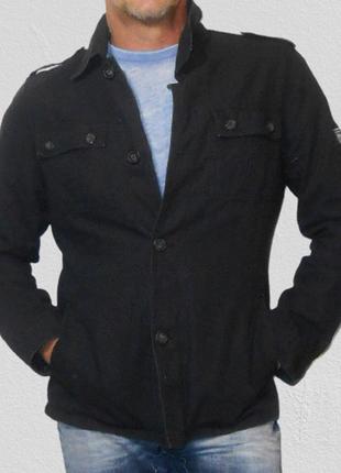Коттоновая милитари куртка.