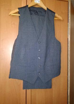 Мужской костюм тройка.  размер 48-50