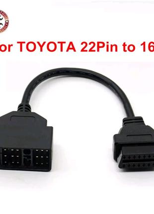 Переходник OBD2 на Toyota 22pin