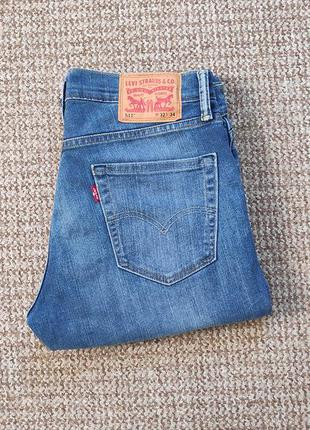 Levi's 511 slim fit джинсы оригинал (w32 l34)