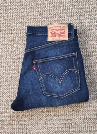 Levi's 511 slim fit джинсы оригинал (w34 l30)