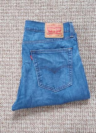 Levi's 511 slim fit джинсы оригинал (w36 l32)