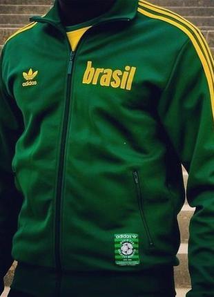 "Олимпийка adidas vintage brasil 1970 limited edition ""all time..."