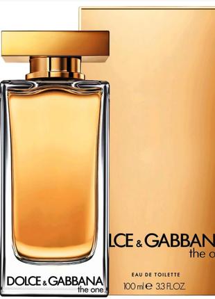 Dolce&Gabbana The One Туалетная вода женская 100 мл