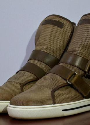 Кеды giorgio armani boots