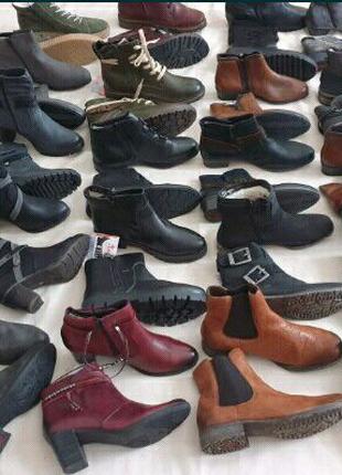 Сток оптом, сапоги, уги, ботинки, кожа бренд