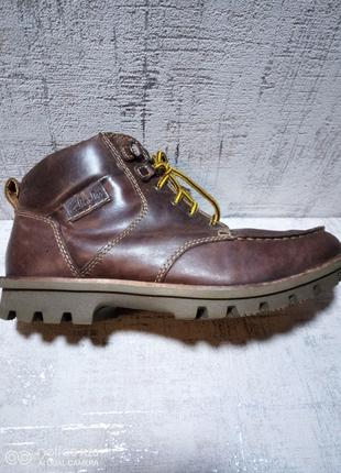 Ботинки Clarks, кожа, 40 р-р.