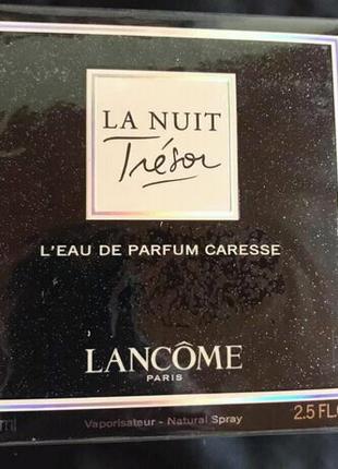 Женская парфюмированная вода La Nuit Tresor De Parfum Caresse