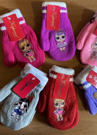 Перчатки  для девочек LOL