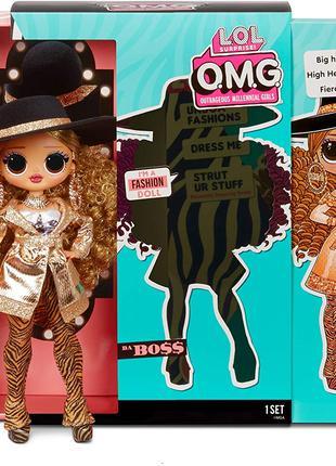 Кукла Лол Омг Леди Босс 3 серия L.O.L. Surprise O.M.G. Series 3