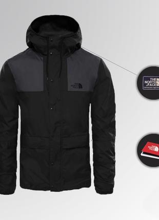 Куртка The North Face 1985 Seasonal Mountain Jacket - BLACK/GRAY