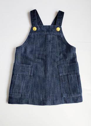 Детский джинсовый сарафан next