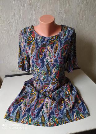 Платье next, вискоза, размер 38/40