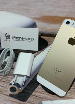 Apple iPhone SE 16gb Gold NEVERLOCK комплект,гарантия.