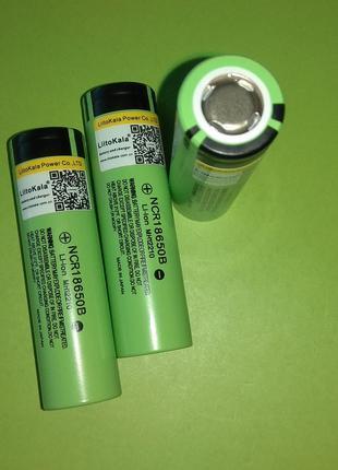 """Panasonic NCR18650B 3400 mAh """"LiitoKala"""" 3400mAh 8А"""