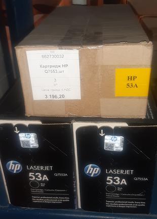 Картридж HP Q7553,шт