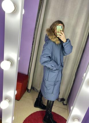 Парка куртка зимняя большого размера, батал