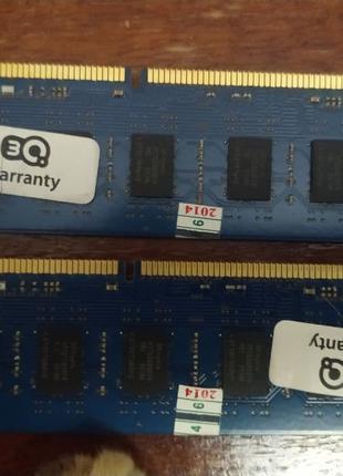 2x4GB DDR3 оперативна пам'ять