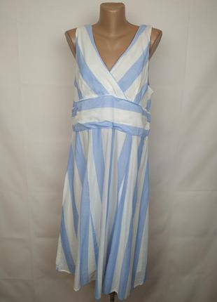Платье натуральное красивое нежное большого размера joules uk ...