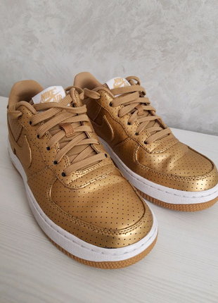 Кросівки Nike air force low gold