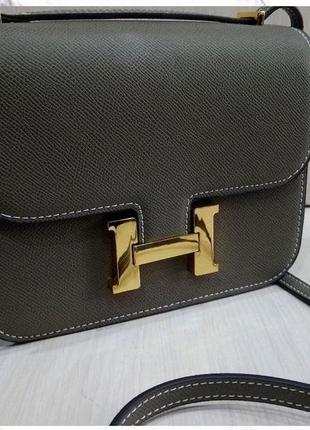 Женская брендовая сумка кросс боди Hermes Гермес в расцветках