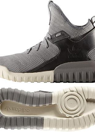 Топовые кроссовки adidas originals tubular x knit.