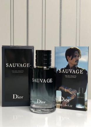 Туалетная вода Sauvage 2015 Christian Dior мужская