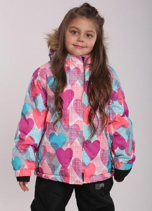 Зимняя куртка р.104-140 премиум-качество чехия