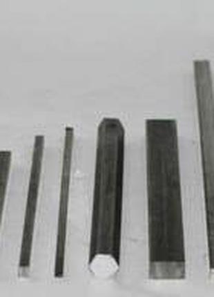Шпоночна сталь 8х7, cт.45, h11, наг, ндл, калібрована