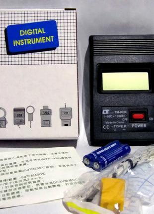 Цифровой термометр TM-902C с термопарой К-типа от -50 до +1300°C
