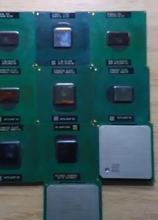 Мобильный процессор Core™2 Duo T7250, PentM 725-760, Celeron 430
