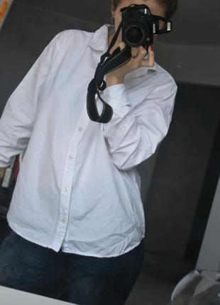 Белая рубашка унисекс