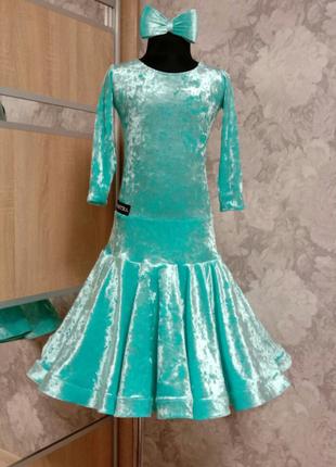 Рейтинговое платье бейсик для бальных танцев