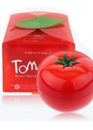 Томатная маска tony moly tomatox magic white massage pack